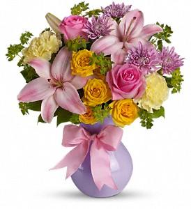 Perfectly Pastel        TEV13-5 Vase Arrangement