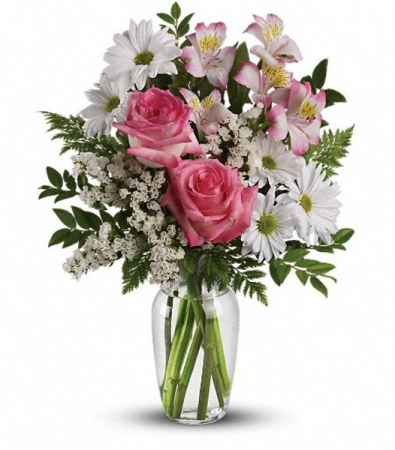sweet and simple fresh arrangement