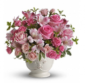 Perfectly PInk Sympathy Arrangement