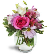 Perfectly Pink - 1121 Vase arrangement