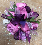 Perfectly Purple Corsage
