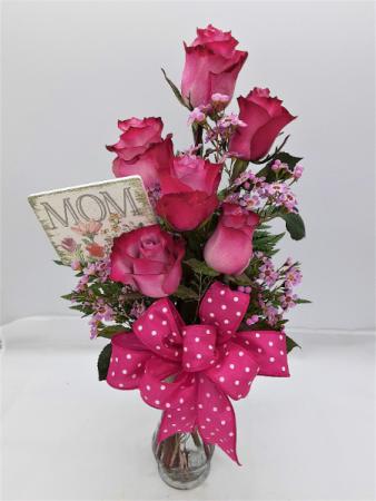 Periwinkle Roses Rose Arrangement