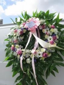 Periwinkle Wreath