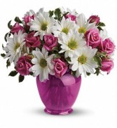 Pink Daisy Delight Floral Bouquet
