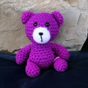 Persephone the Bear Grandma's Crochet Plush