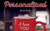 Personalized Coffee Mug Wrapped Gift