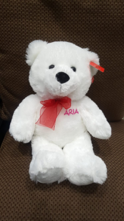 Personalized Teddy Bear Add-on in Vancouver, BC   ARIA FLORIST