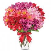Peruvian Lily Romance Bouquet Arrangement