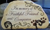 Pet Bereavement Stone