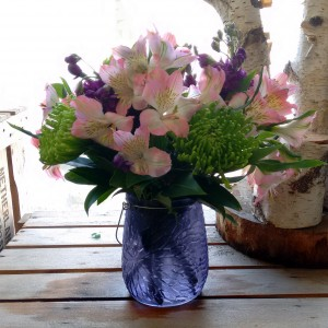 My Guiding Light Vase Arrangement in North Adams, MA | MOUNT WILLIAMS GREENHOUSES INC