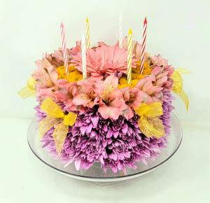 Petal Perfect  Flower Cake in Springfield, MO   FLOWERAMA #226
