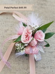 Petal Perfect Wrist Corsage