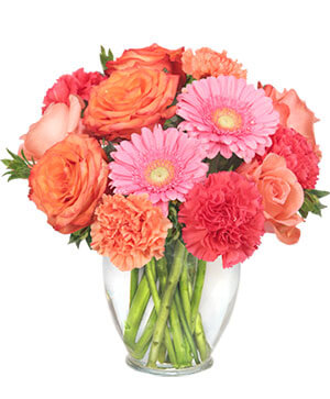 PETAL PERFECTION Flower Arrangement in Ware, MA | OTTO FLORIST & GIFTS