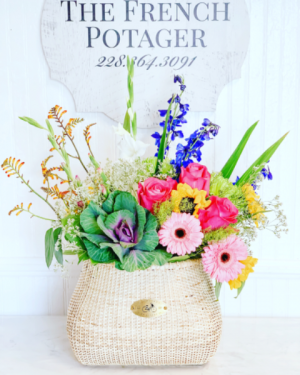 Petal Pusher Designer's Choice in Bay Saint Louis, MS | The French Potager