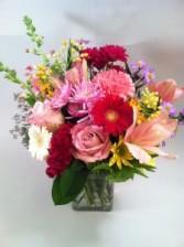 Petals in Pink Vase