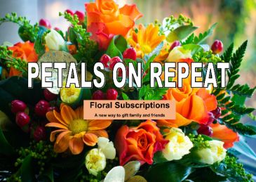 Petals On Repeat Floral Subscription