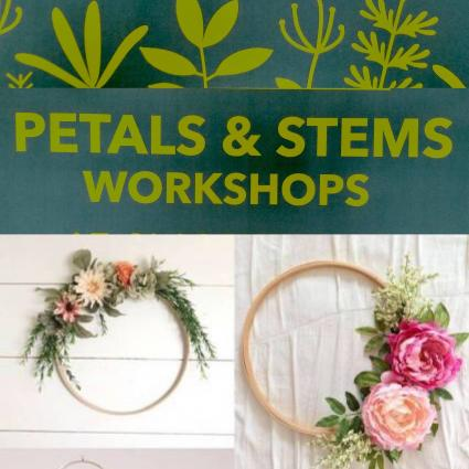 6/27 Pre-Register Today! Spring Silk Hoop Wreath