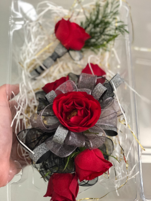 Petite Combo - Boutonniere & Corsage in Millstadt, IL | BLISS FLORAL & GIFTS