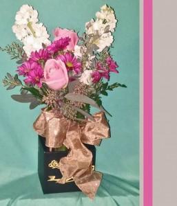 Petite Pretty Flower Arrangement
