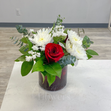 Petite Valentine Vase Arrangement
