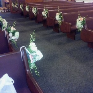 Wedding Pew Markers