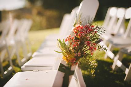 Pew Markers Custom Wedding Ceremony