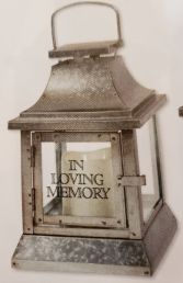 PEWTER LANTERN ONLY ONE AVAILABLE