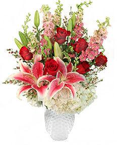 PF Aphrodite's Embrace Floral Arrangement