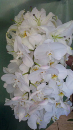 Phaelenopsis Wedding bouquet