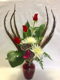 Pheasantly In Love Arrangement