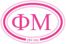 Phi Mu Welcome Sister small gift bag An assortment of Phi Mu items to get your new sister started on the right foot! $45 value!!