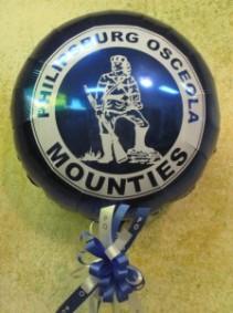 Philipsburg Osceola Mylar Balloons & Ribbon