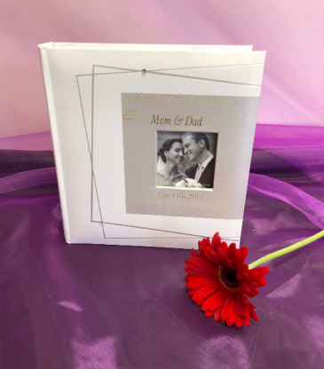 Photo album Engraved personalized gift