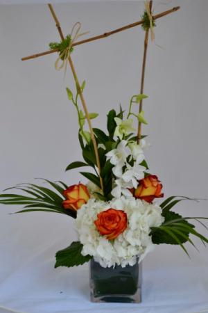Piña Colada Vase arrangement