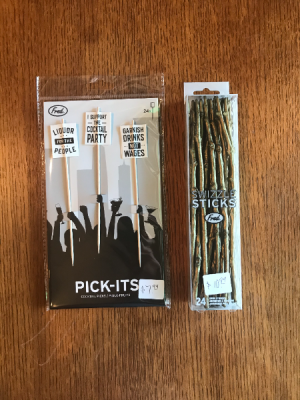 Pick-Its Cocktail Picks and Swizzle Sticks  in Yankton, SD | Pied Piper Flowers & Gifts