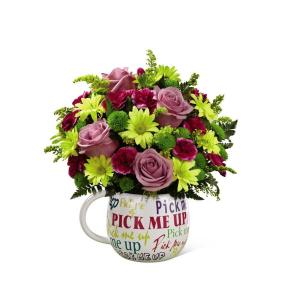 Pick Me Up XXL Mug Arrangement in Saskatoon, SK | QUINN & KIM'S FLOWERS