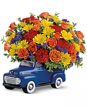 Pick up Truck Bouquet!