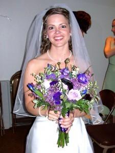 Pick Your Purple wedding