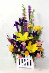 Picket Fence Bouquet