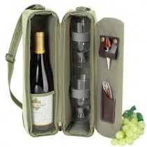 Picnic at Ascot Wine Tote MADE IN AMERICA