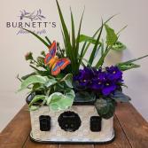Picnic Basket Garden Planter