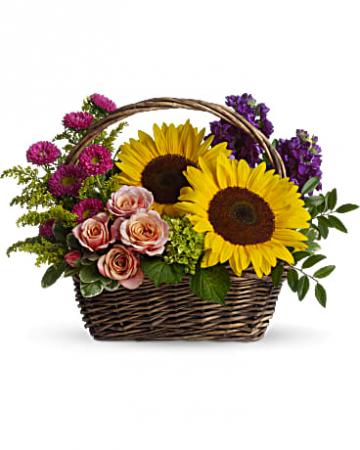 Picnic in the Park Basket Flower
