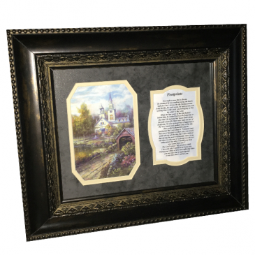 Picture Frame - Footprints Gift