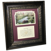 Picture Frame - Lord's Prayer Gift