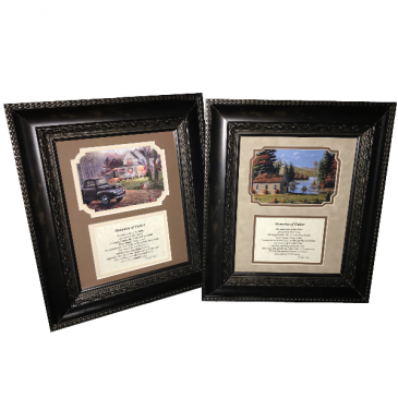 Picture Frame - Memories of Father Gift