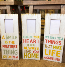picture frame plaques