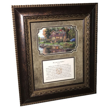 Picture Frame - Psalm 23 Gift