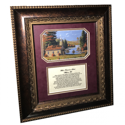 Picture Frame - When Tomorrow Starts Without Me Gift