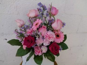 Picture Perfect  Vase Arrangement