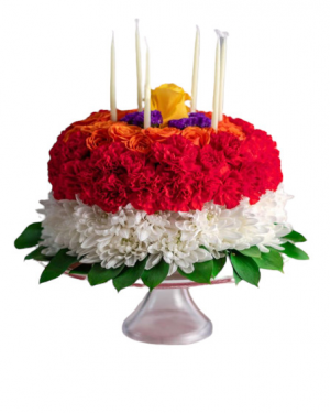 Piece O Cake Floral Arrangement  in Spotsylvania, VA | Walker's Flowers & More
